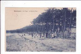 CP 1931 - MARENNES - La Plage Et Le Bois De Pins - - Marennes