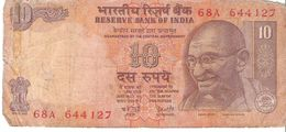 India - Pick 89e - 10 Rupees 1996 - G - India