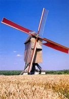 SINT-DENIJS-BOEKEL - Wijlegem, Zwalm (O.Vl.) - Molen/moulin - De Vinkemolen, Overgebracht Uit Oosterzele, In Werking - Zwalm