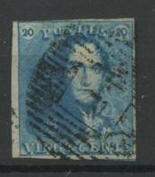 20c Epaulette  Ø  Avec Un Petit Voisin   Joli Bouche Case - 1849 Schulterklappen