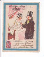 CP - Levure ALSA - Docteur... Je Peux Manger Un Gâteau ? - Publicité
