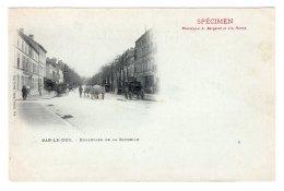 """CPA  """" SPECIMEN """"     A BERGERET---BAR-LE-DUC---BOULEVARD DE LA ROCHELLE - Bergeret"""