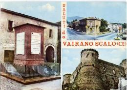 VAIRANO SCALO  CASERTA   Saluti Da..  3 Vedute - Caserta
