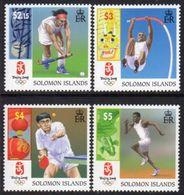 Solomon Islands 2008 Olympic Games, Beijing Set Of 4, MNH, SG 1246/9 (B) - Islas Salomón (1978-...)