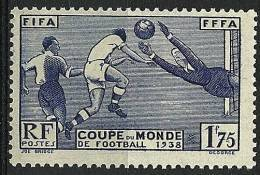 "FR YT 396 "" Coupe De Monde De Football "" 1938 Neuf* - Frankreich"