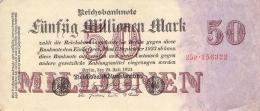 50 MIo Reichsbanknote - [ 3] 1918-1933: Weimarrepubliek