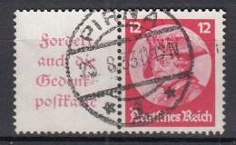 DUITSLAND Samenhangend Michel   W  45  Used/VF    [d386  ] - Zusammendrucke