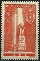 """FR YT 395 """" Monument Santé Militaire """" 1938 Neuf** - Frankreich"""