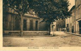 13 - Saint Chamas : La Poste Et Rue Voltaire - France