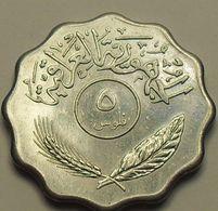 1981 - Irak - Iraq - 5 FILS, KM 125a - Iraq