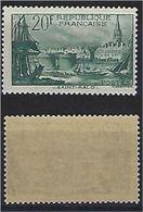 "FR YT 394 "" Port De Saint Malo "" 1938 Neuf** - Frankreich"