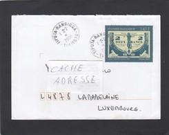 "LETTRE AVEC TIMBRE YVERT NO 819 OBLITÉRÉ ""TIPUTA-RANGIROA"". - French Polynesia"