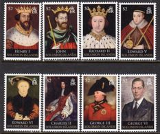 Solomon Islands 2010 Kings & Queens Of England III Set Of 8, MNH, SG 1281/8 (B) - Salomoninseln (Salomonen 1978-...)