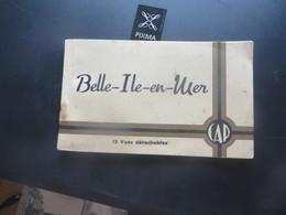 BELLE ILE EN MER ,carnet  De 12 Cartes ,,, IL EN MANQUE UNE ATTENTION - Belle Ile En Mer