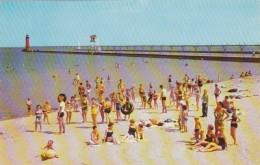 Wisconsin Kenosha Simmons Beach On Lake Michigan - Kenosha