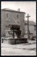 63-Combrode, Croix Du XVe Siècle Et Fontaine Du Tonneau - Combronde