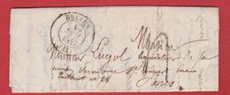 Lettre / De Briare / Pour Paris / 1 Mai 1847 - 1801-1848: Precursors XIX