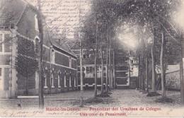 Marche-les-Dames Pensionnat Des Ursulines De Cologne Une Cour Du Pensionnat Circulée En 1908 Voir Cachet Au Verso - Belgium
