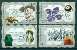 HONG KONG CHINA 1329/32 Scoutisme - 1997-... Région Administrative Chinoise