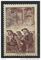 "FR YT 390 "" Mineurs "" 1938 Neuf** - Frankreich"
