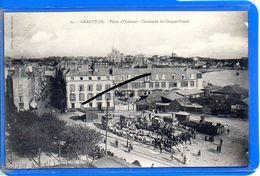 CPA 50 - GRANVILLE - Place D'Orléans - Cavalcade Du Cirque Pinder - Granville