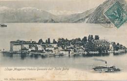 T.616.  Lago Maggiore - ISOLA BELLA - 1904 - Italië