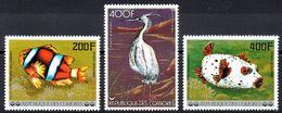 COMORES - YT PA N° 128 à 130 - Neufs ** - MNH - Cote: 17,90 € - Komoren (1975-...)