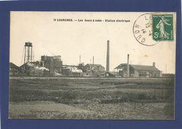 59 LOURCHES / Les Fours à Coke / Station électrique. - France