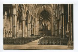 Nave Looking E Lincoln Cathedral - Lincoln