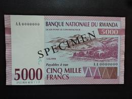 RWANDA : 5000 FRANCS  1.12.1994   P 25    SUP+ - Rwanda