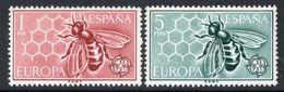 (B371-17) Spain 1962 Europa CEPT Set MNH - Europa-CEPT