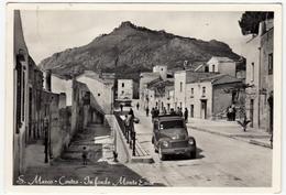 S. MARCO - CENTRO - IN FONDO MONTE ERICE - PAPARELLA? - TRAPANI - 1958 - AUTOMOBILI - CARS - Trapani