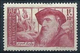 "FR YT 384 "" A. Rodin "" 1938 Neuf** - Frankreich"