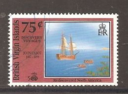BRITISH VIRGIN ISLANDS 1998 JOHN CABOT VOYAGES OF DISCOVERY 500th ANNIV - Britse Maagdeneilanden