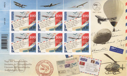 Kleinbogen 2016 Aerophilatelie Luftfahrt Neu** / Aviation / Aviazione - Blocks & Sheetlets & Panes