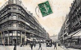 CPA LILLE - VUE VERS LA GARE PRISE DE LA GRAND'PLACE - Lille