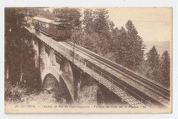 31 Luchon, Chemin De Fer De Superbagnères, Passage Sur Le Viaduc (232) - Luchon