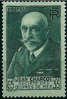 """FR YT 377 """" J. Charcot """" 1938 Neuf** - Frankreich"""