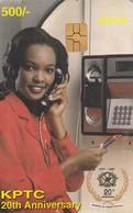 11844 - SCHEDA TELEFONICA - KENYA - USATA - Kenya