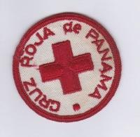 020418 - CROIX ROUGE écusson En Tissu - CRUZ ROJA DE PANAMA - Croix-Rouge