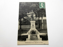 CPA - SERMIZELLES (89) - Monument Aux Morts - 1925 - Autres Communes