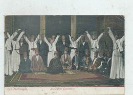 Istambul Ou Constantinople (Turquie) : Derviches Tourneurs Et Musiciens En 1909 (animé) PF. - Turchia