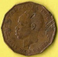1  Pièce  De Monnaie  5 Senti 1966 - Tanzanie