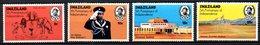 SWAZILAND. N°204-7 De 1973. Indépendance/Armoiries/Eléphant/Lion. - Swaziland (1968-...)