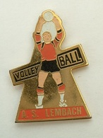 PIN'S  VOLLEYBALL - A.S LAMBACH - MOSELLE - Volleyball