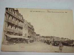 C.P.A.- Le Croisic (44) - L'Hôtel Masson Devant Le Port - 1935 - SUP (T85) - Le Croisic