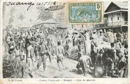 CONGO FRANCAIS  BANGUI JOUR DE MARCHE - Congo Français - Autres