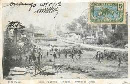 CONGO FRANCAIS  BANGUI AVENUE E.GENTIL - Congo Français - Autres