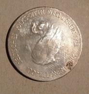 TOKEN JETON GETTONE GERMANIA DEUTSCHES VOLKS-OPPER RUHR RHEIN 1923 - Monetary/Of Necessity