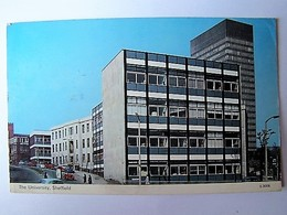 UNITED KINGDOM - ENGLAND - YORKSHIRE - SHEFFIELD - The University - 1959 - Sheffield